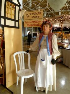 Sherry Meidell at the Dickens Festival