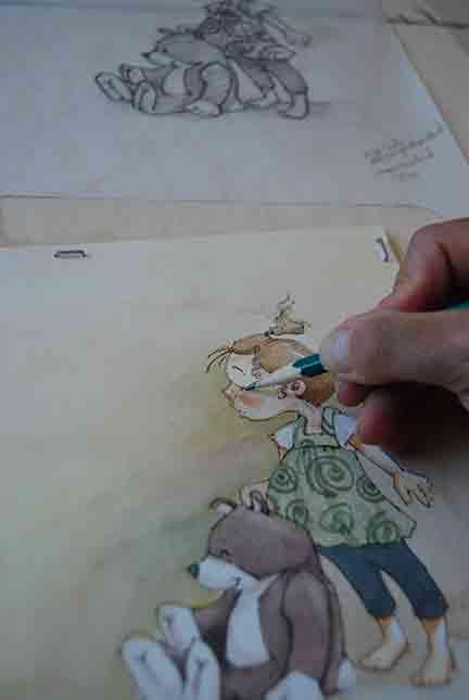 Pencil detail
