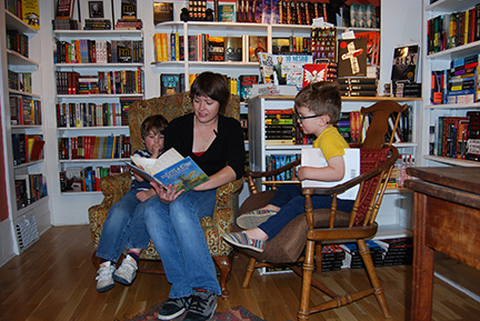 Story telling at The King's English Book Store