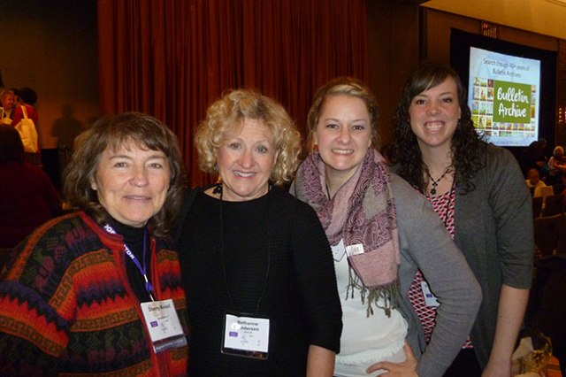 Illustrators Sherry Meidell, Bethanne Andersen, Manelle Oliphant and Shawna Tenney