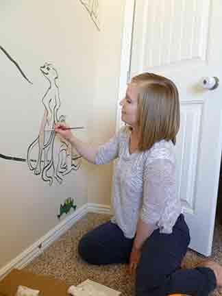 Painting the Meerkats