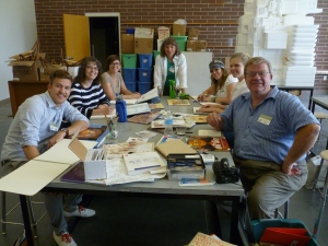 The Illustrator's Mini Worshop at the Writers & Illustrators for Young Readers taught by Sherry Meidell