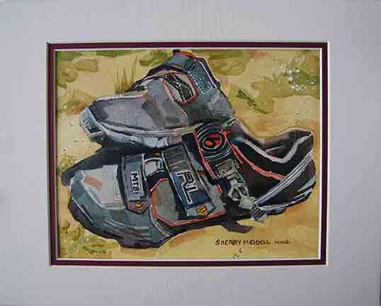 Robert's Biking Shoes